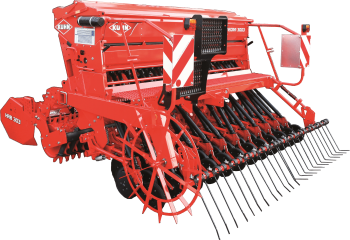 COMBILINER INTEGRA 3003 integrated mechanical seed drill Silhouette