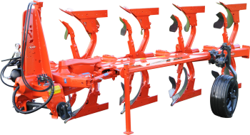 MASTER 123: the versatile, simple and robust plough for tractors from 65 to 210 hp