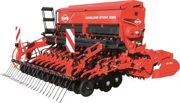 COMBILINER SITERA 3000 seed drill Silhouette