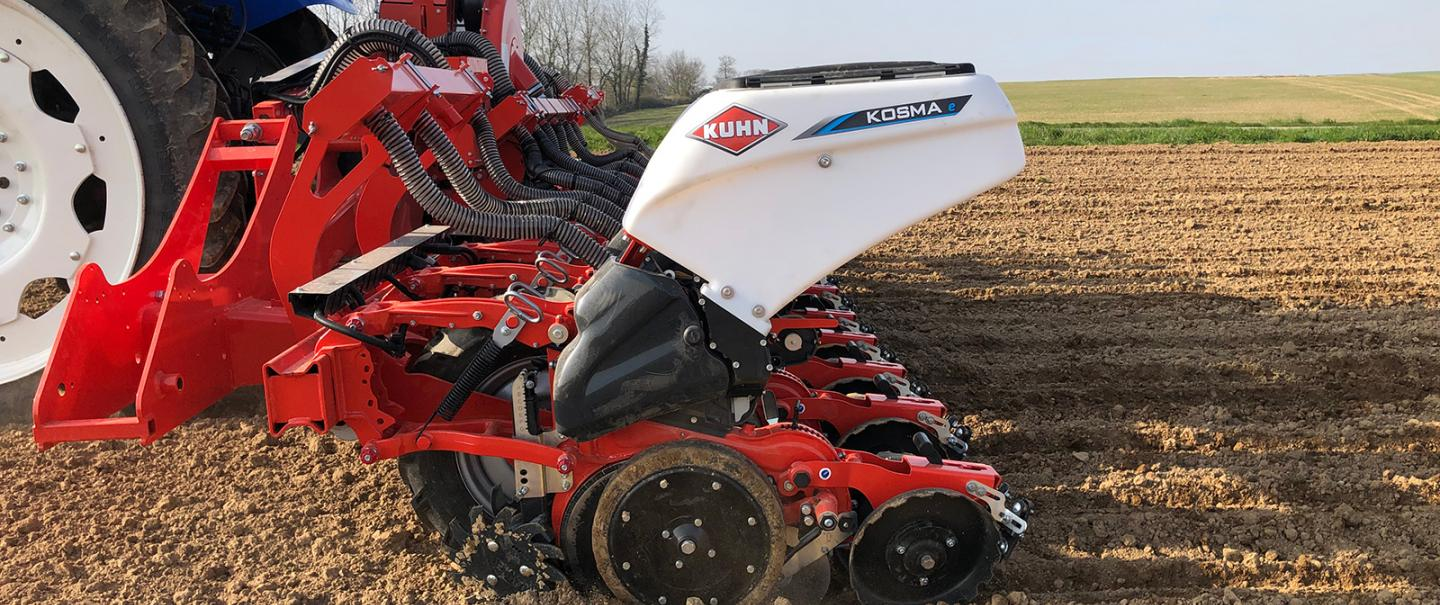 KOSMA Seeding unit at work