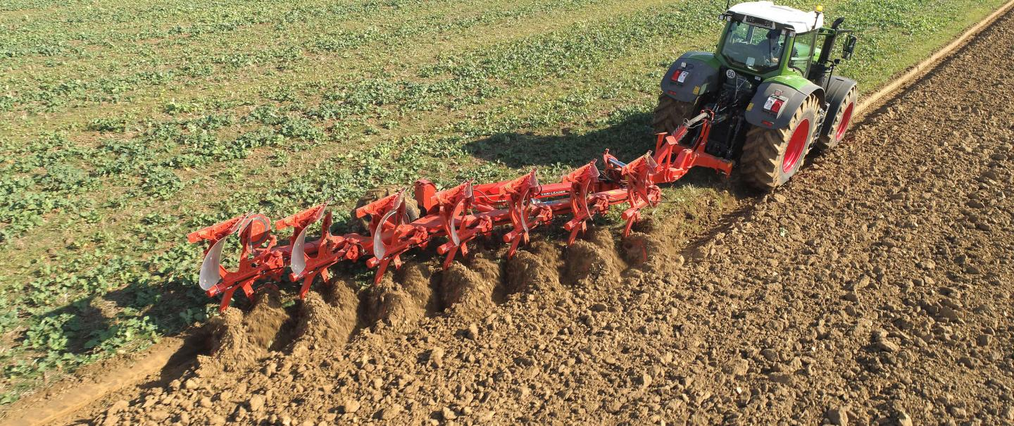 LEADER plough at work