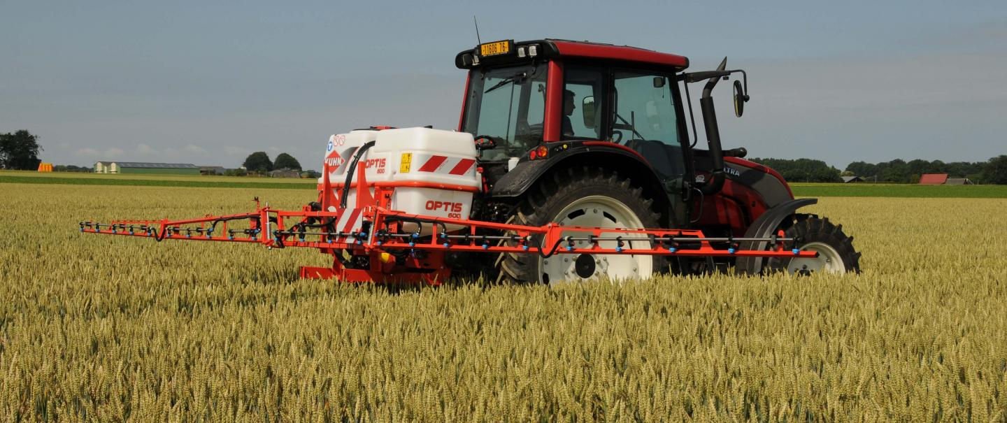 OPTIS 600 with RPL 12 m boom + tractor assembly