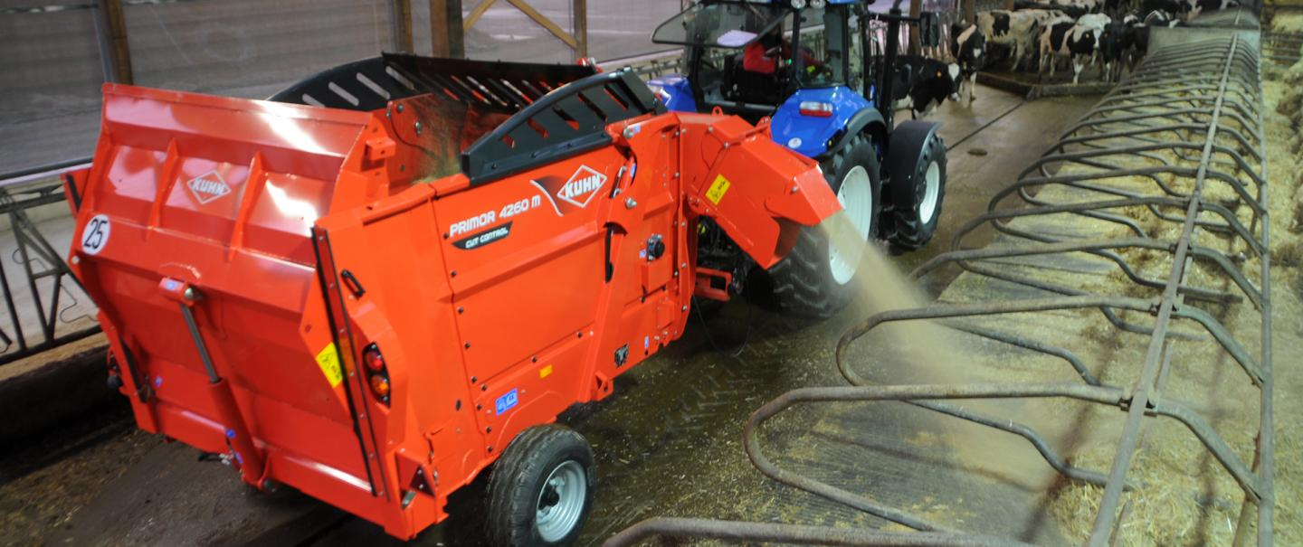 The PRIMOR 4260 M CUT CONTROL in action