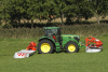 The GMD 3125 F mower at work with a GMD 4411